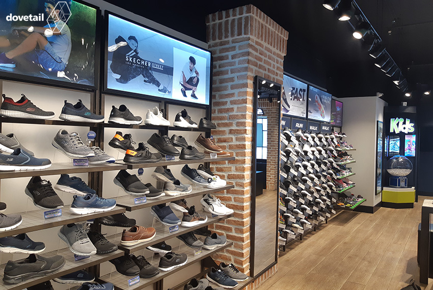 Skechers store (Concept L) executed by Dovetail
