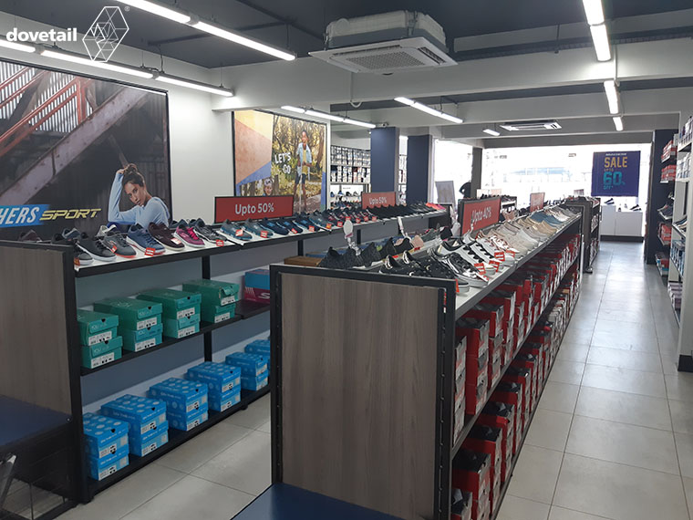 Skechers (Outlet Concept store) executed by Dovetail